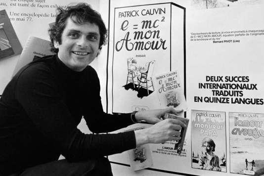 Jean-Claude Lattès, au Festival du Livre de Nice, en mai 1977.