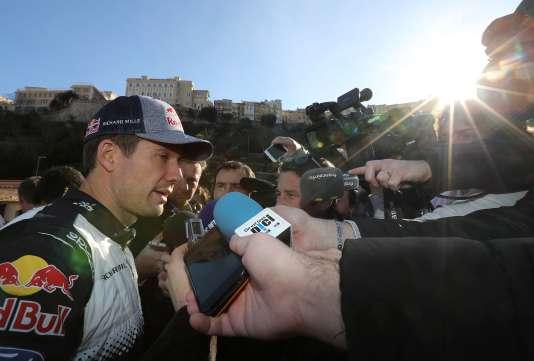 Sébastien Ogier remporte pour la 5e fois d'affilée le rallye de Monte Carlo le 28 janvier.