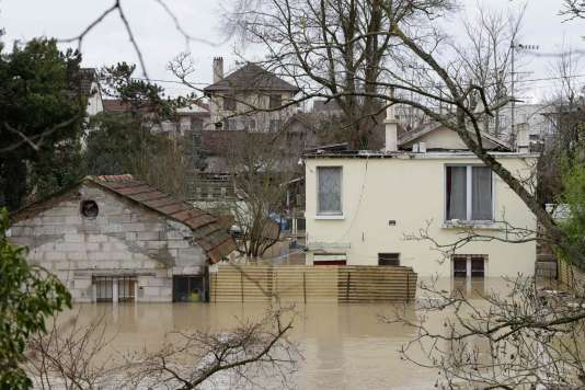 A Villeneuve-Saint-Georges, dans le Val-de-Marne, le 23 janvier.