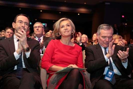 Valérie Pécresse au conseil national du parti Les Républicains, à Paris, le 27 janvier.