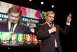 The independent presidential candidate and current president Sauli Niinisto greets and thanks his supporters at his election reception in in Helsinki, Finland, Sunday, Jan. 28, 2018. Finland's incumbent president is barreling toward re-election as the ongoing vote count shows him with a large majority in the Nordic nation. (Jussi Nukari/Lehtikuva via AP)
