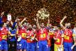 Les Espagnols sont champions d'Europe de handball pour la première fois de leur histoire.