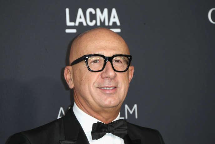 Le PDG de Gucci, Marco Bizzarri, le 29 octobre 2016 à Los Angeles (Etats-Unis).