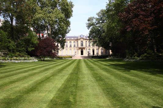 L'hôtel de Matignon, depuis son jardin, en 2007.