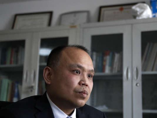 Yu Wensheng, à Pékin, le 24 février 2017.