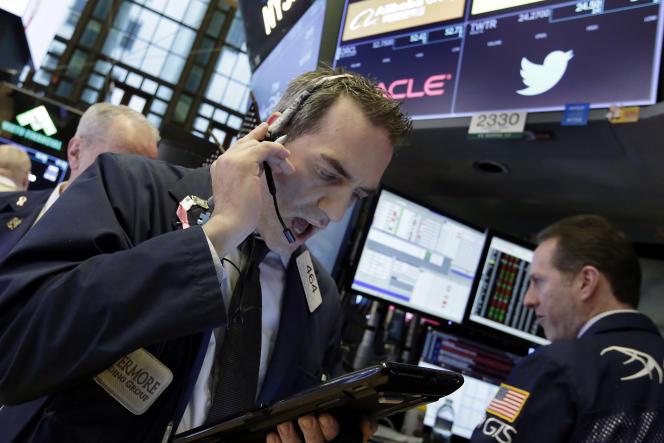 Chez certains établissements, la commission peut tomber à 0,10% du montant de l'ordre sur des marchés étrangers comme à la Bourse New York (photo).