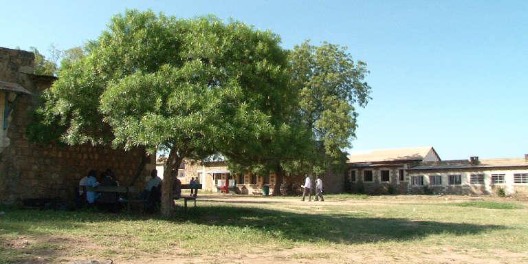 Le campus de l'Université de Juba, en janvier 2018.