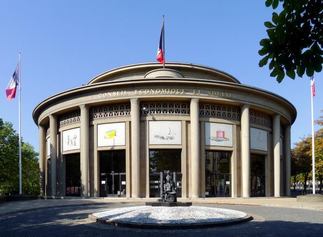 Le palais d'Iéna, à Paris, où les membres du Conseil économique, social et environnemental siègent deux fois par mois.