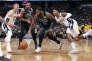 Dans le monde de la NBA, un follower est un client.Ci-dessus le match Boston BostonCeltics -Denver Nuggets, le 29 janvier 2018 à Denver.