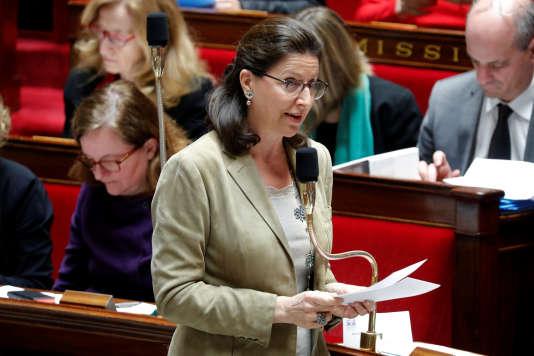 Agnès Buzyn, le 30 janvier.