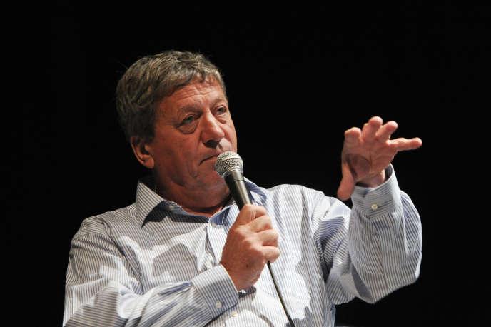 Pascal Rogard, directeur général de laSociété des auteurs et compositeurs dramatiques, en 2015.