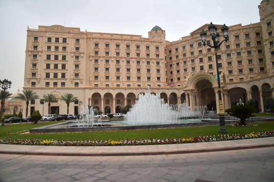 Le luxueux hotelRitz-Carlton de Riyad a servi de« prison dorée» dans le cadre de la campagne anticorruption.