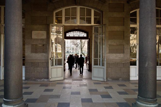 Le lycée du Parc à Lyon, qui accueille de nombreuses classes prépas.