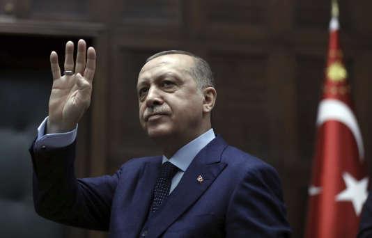 Le président turc Recep Tayyip Erdogan à Ankara, le 30 janvier.
