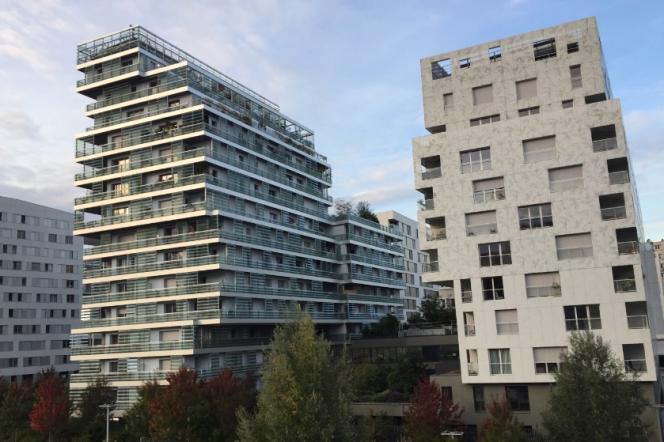 Immeubles neufs dans le 17ème arrondissement de Paris.
