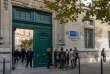 Devant l'entrée des locaux parisiens de l'ESCP Europe, dont le master en finance est classé deuxième mondial après celui d'HEC par le «Financial Times» en 2018.