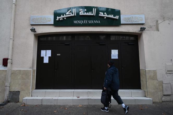 La mosquée As-Sounna en décembre 2017.