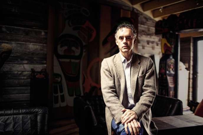 Jordan Péterson, professeur de psychologie à l'université de Toronto au Canada.