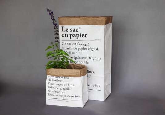 Ce sac de l'agence Be-pôles s'est vendu depuis dix ans à plus de 200 000 exemplaires et a inspiré toute une ligne de produits.