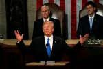 Donald Trump a prononcé son discours annuel sur l'état de la nation, le 30 janvier.