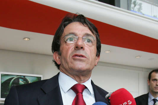 Jean-Luc Vergne, en mai 2007.