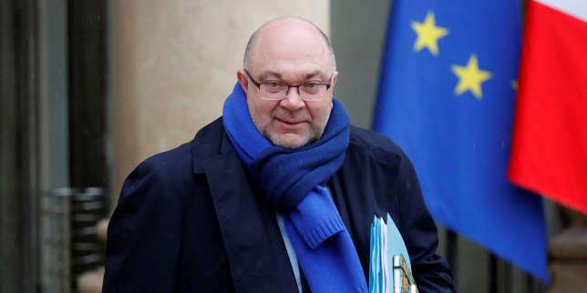 Stéphane Travert, au palais de l'Elysée, le 31 janvier.