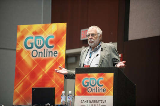 Nolan Bushnell lors de la Games Developers Conference de 2011.