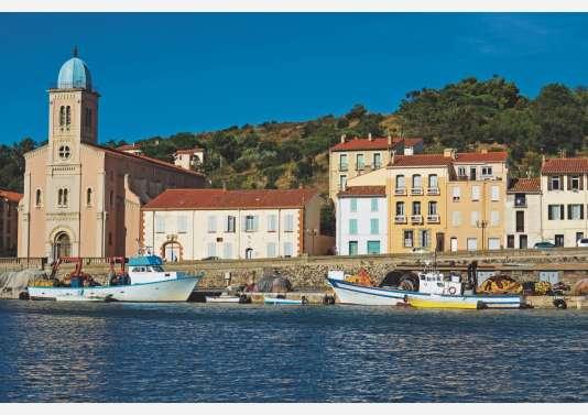 Port-Vendres et ses fameuses couleurs.