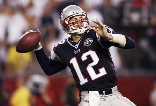 Tom Brady en 2004.