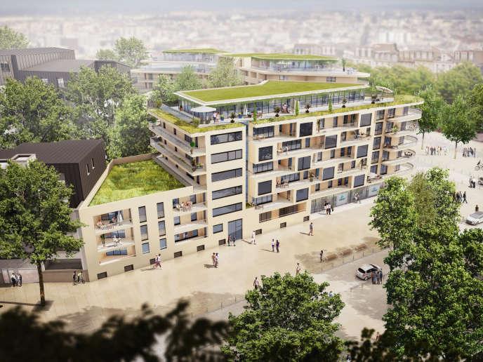 Les premiers logements seront livrés à l'été 2019