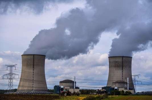 La centrale nucléaire de Catenom (Moselle), en octobre 2017.