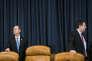 Le démocrate Adam Schiff (à gauche) et le républicain Devin Nunes, membres de la commission du renseignement de la CHambre des représentants, au Capitole, en mars 2017.