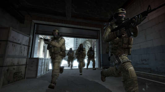 Une image du dernier épisode de la série de jeux, « Counter-Strike : Globlal Offensive».