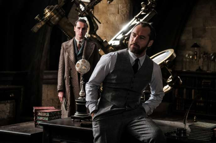 Jude Law incarne Albus Dumbledore dans le second volet des «Animaux fantastiques».