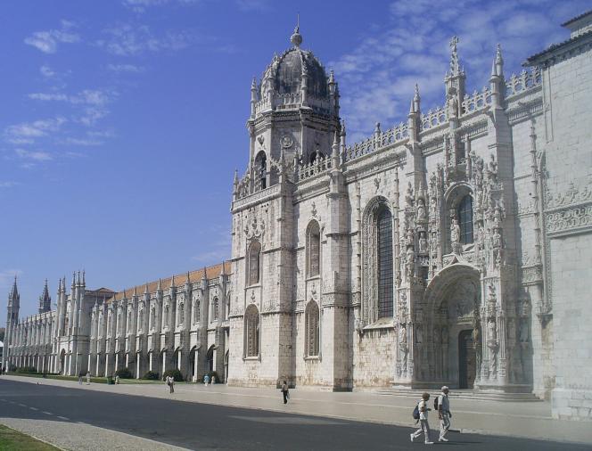 Le monastère des Hiéronymites, à Belem.