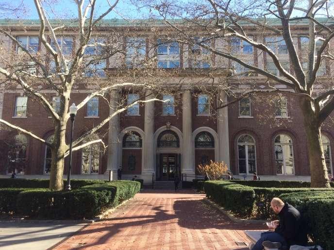 La bibliothèque Avery de l'école d'architecture, sur le campus de Columbia.