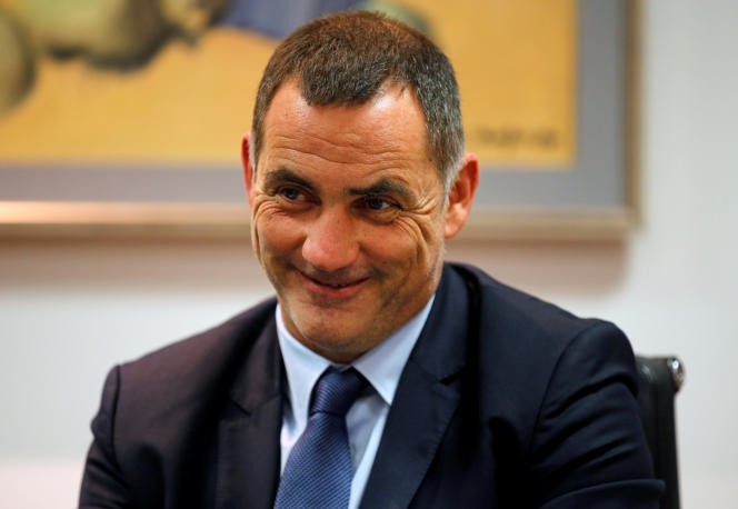 Gilles Simeoni, en 7e position sur la liste Femu a Corsica du maire sortant de Bastia,Pierre Savelli.