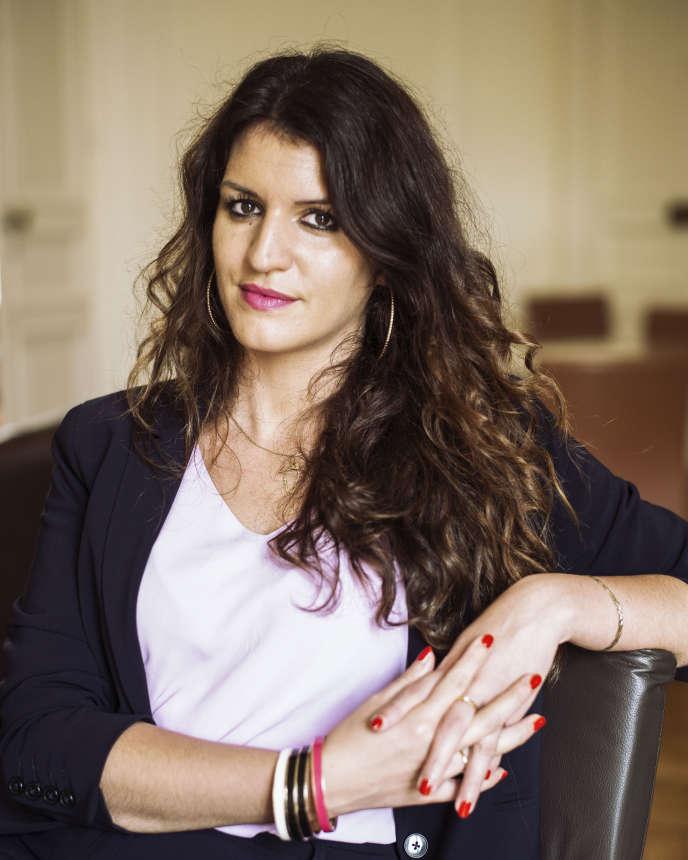 Marlène Schiappa, secrétaire d'Etat chargée de l'égalité entre les femmes et les hommes, en août 2017.