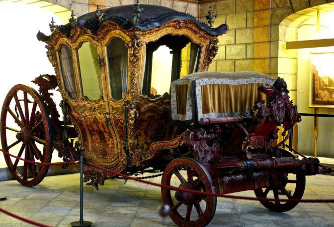 Le Musée des carrosses, à Belem.
