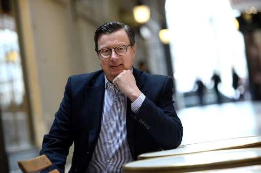 Edouard Ferrand, en 2015 à Paris.