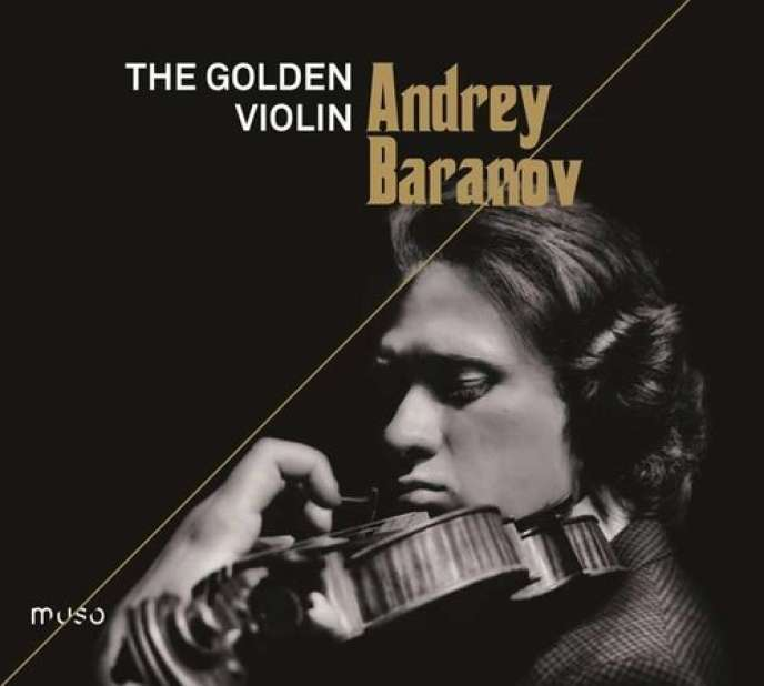 Pochette de l'album « The Golden Violin », d'Andrey Baranov.