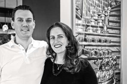 Le chef canadien Noam Gedalof et son épouse, la sommelièreEtheliya Hananova.