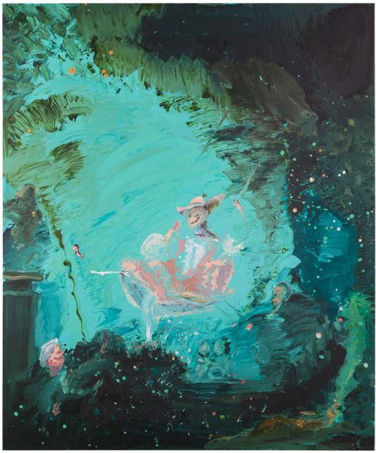 « The Swing (After Fragonard)»(2017), deGenieve Figgis.