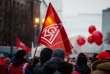 Une manifestation des travailleurs du secteur métallurgique à Munich, le 2 février.