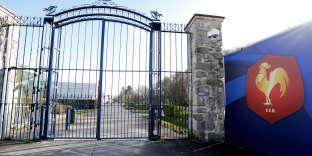 Le siège de la Fédération française de rugby, à Marcoussis (Essonne), en février 2018.