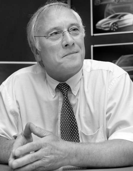 Le designer automobile Gérard Welter (ici en 2003) est décédé le 31 janvier à l'âge de 75 ans.