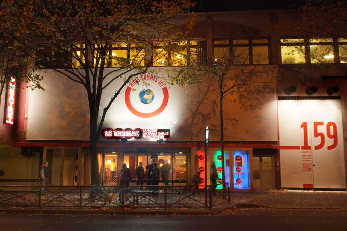Le Tarmac,théâtre dédié à la francophonie, à Paris.