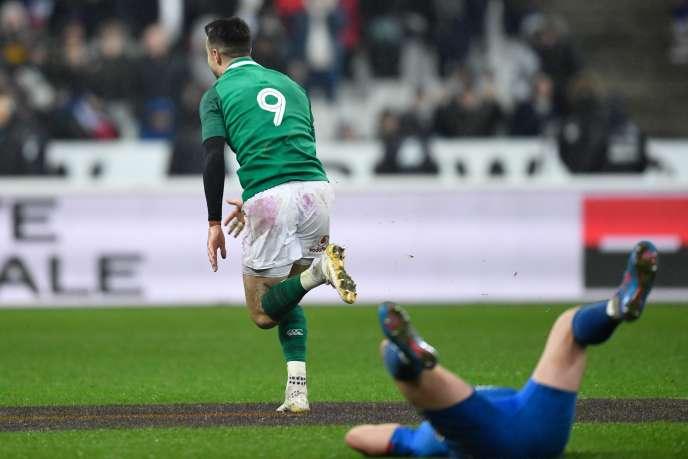 Les Bleus se sont inclinés à la dernière seconde face à l'Irlande, sur un drop de Sexton.