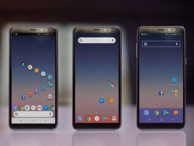 Nova permet de choisir le nombre d'icônes par écran, de régler finement la barre des applications importantes, de faire disparaître les informations affichées en haut de l'écran, de modifier les marges d'écran ou encore de personnaliser l'apparence des dossiers.