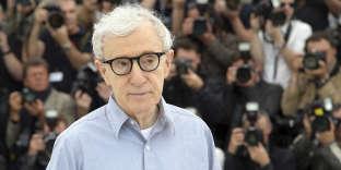 Woody Allen au Festival de Cannes, en mai 2016.